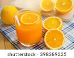 be cut to remove the orange... | Shutterstock . vector #398389225