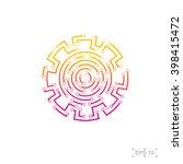 abstract logo design template... | Shutterstock .eps vector #398415472