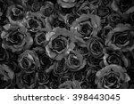 roses on mono chrome tone | Shutterstock . vector #398443045
