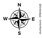 Compass Rose Of The Winds Or...