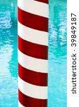 Candy-striped Gondola Pole