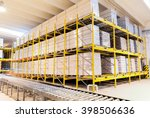 warehouse in a mill factory... | Shutterstock . vector #398506636