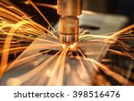 industrial welding automotive... | Shutterstock . vector #398516476