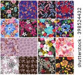 Vector Set 12 Seamless Pattern...