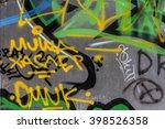 beautiful street art of... | Shutterstock . vector #398526358