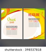 abstract vector template design ... | Shutterstock .eps vector #398537818