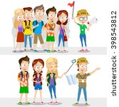 cartoon illustration of... | Shutterstock .eps vector #398543812