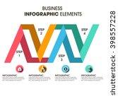 business infographics vector... | Shutterstock .eps vector #398557228