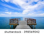 Alone Pier With View At The...