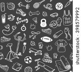 seamless vector pattern  with... | Shutterstock .eps vector #398579992