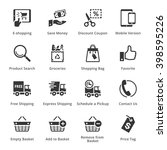 e commerce icons   set 4 | Shutterstock .eps vector #398595226