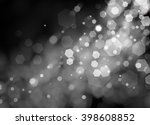 black background with blurred... | Shutterstock . vector #398608852