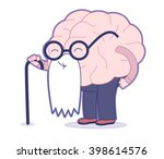 age flat cartoon vector... | Shutterstock .eps vector #398614576