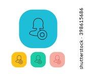 female user settings icon