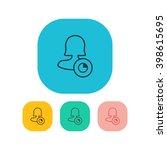 female user timer icon