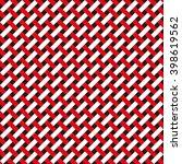 seamless basket weave abstract... | Shutterstock .eps vector #398619562