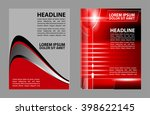 brochure flyer design  | Shutterstock .eps vector #398622145