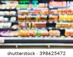 blurred of fresh food and... | Shutterstock . vector #398625472