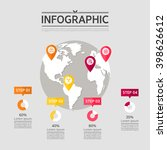 business info graphic design | Shutterstock .eps vector #398626612