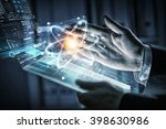innovative technologies in... | Shutterstock . vector #398630986
