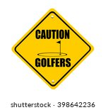 Caution Golfers Sign With...