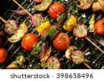 Grilled Veggie Skewers With...
