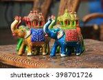 Wooden Elephants Sold As...