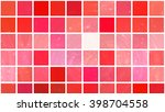 abstract background. red mosaic | Shutterstock . vector #398704558