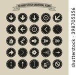 25 hand stitch border vintage...