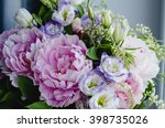 Rich Bunch Of Pink Peonies And...