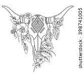 Decorative Indian Bull Skull...