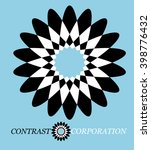 logo contrast corporation | Shutterstock .eps vector #398776432