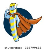 illustration of a super candy... | Shutterstock . vector #398799688