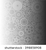 background with gears | Shutterstock .eps vector #398858908