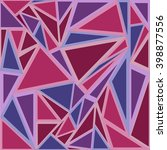 seamless triangle pattern.... | Shutterstock .eps vector #398877556