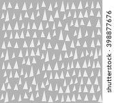 seamless triangle pattern.... | Shutterstock .eps vector #398877676