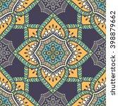 seamless pattern. vintage... | Shutterstock .eps vector #398879662