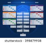 match schedule  template for... | Shutterstock .eps vector #398879938