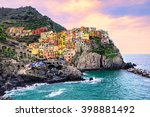 Colorful Traditional Houses On...