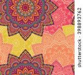 seamless pattern. vintage...   Shutterstock .eps vector #398893762