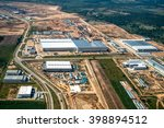 industrial estate land... | Shutterstock . vector #398894512