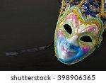 carnival mask festival luxury... | Shutterstock . vector #398906365