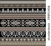 antique borders for your design | Shutterstock .eps vector #39891406