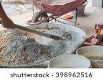 cement mixer | Shutterstock . vector #398962516