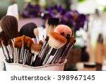 workplace makeup artist. set of ... | Shutterstock . vector #398967145