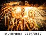 industrial welding automotive... | Shutterstock . vector #398970652