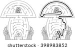 Mushroom Maze For Kids With A...