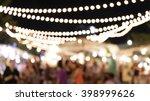 night market. | Shutterstock . vector #398999626