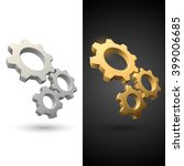 gears icons   Shutterstock .eps vector #399006685