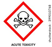 ghs hazard pictogram   acute... | Shutterstock .eps vector #399010768